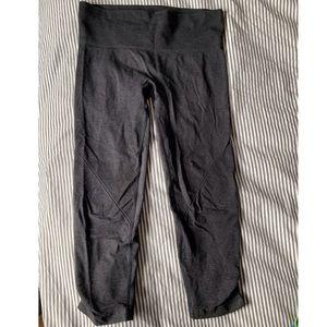 Lululemon Seamless Cropped Pants in Grey!